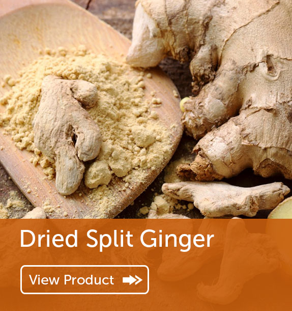 Export of Dried Split Ginger in Nigeria & Ghana