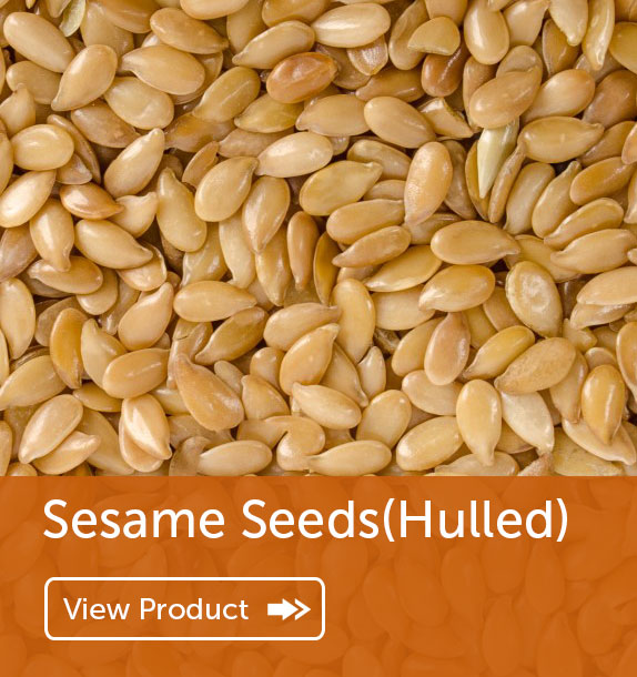 Export of Sesame Seeds(Hulled) in Nigeria & Ghana